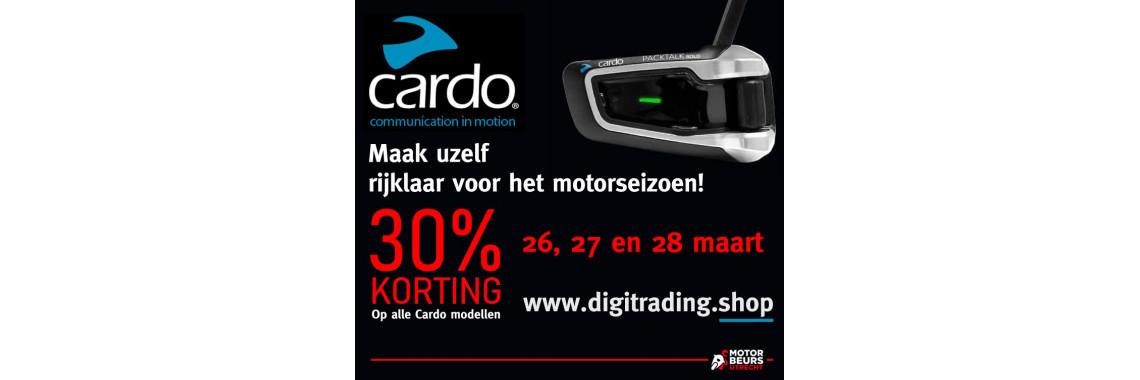 Cardo Motorbeurs FB actie 2021